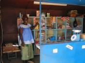 Shop in Burkina Faso.