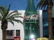 The Las Vegas Strip World of Coca-Cola museum in 2003