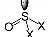 The structure of the thionyl group