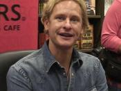 Carson Kressley at a book signing in New York City, New York, United States
