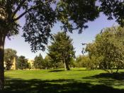 English: Idaho State University campus in Pocatello, Idaho.