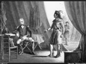 English: Andrew Jackson & William Weatherford after the Battle of Horseshoe Bend, 1814 Français : Andrew Jackson et William Weatherford après la bataille de Horseshoe Bend en 1814 Polski: Andrew Jackson i William Weatherford po bitwie USA z Indianami Krik