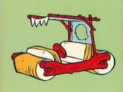 1979 Flintstones Fish Card Game