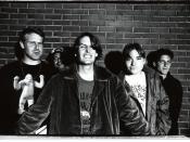 English: The band, Pavement, in Sibuya,Tokyo
