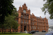 English: The Peel Building, on the University of Salford campus