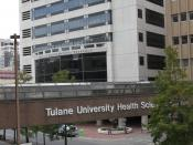 English: Tulane University Health Sciences Center, New Orleans
