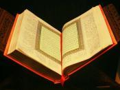 العربية: القرآن في متحف التاريخ الطبيعي في نيويورك Polski: Koran w Muzeum Historii Naturalnej w Nowym Jorku