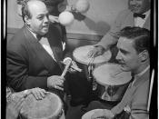 [Portrait of Noro Morales and Humberto López Morales, Glen Island Casino(?), New York, N.Y., ca. July 1947] (LOC)