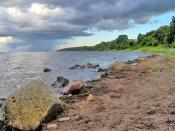 Bay of Puck (Zatoka Pucka) in Poland