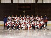 Winter 2002-03 Varsity B Hockey Team.