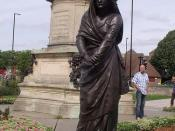 The Gower Memorial - Lady Macbeth statue