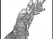 English: The thirteen colonies in 1775 Česky: Původních 13 kolonií na území dnešních Spojených států amerických