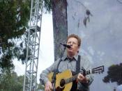 Tim O'Brien appearing at RockyGrass-2006 Lyons, Colorado July 30, 2006.