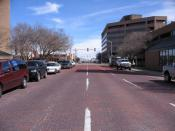 Several streets around Amarillo's downtown area are still paved in bricks.