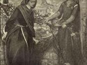 Dante's Vision of Rachel and Leah Dante Gabriel Rossetti, 1899