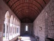 Barrel Vault at the The Cloisters in New York City.