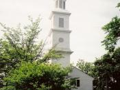 St. John's Episcopal Church is the oldest church in Richmond, Virginia, and the site of the Second Virginia Convention where Patrick Henry delivered his