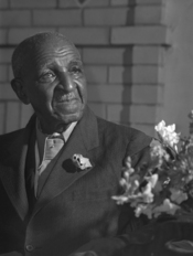 Portrait of George Washington Carver.