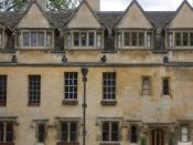 One of the buildings of Brasenose College, Oxford