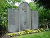 English: Cemetery Hannover Stoecken, the grave for the victims of the serial killer Fritz Haarmann