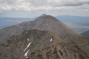 Humboldt Peak seen from Kit Carson peak
