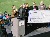 The first, titled the Ansari X Prize, was presented on November 6, 2004.