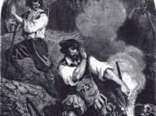Le Vampire,engraving by R. de Moraine