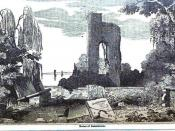English: Image of the ruins at Jamestown, Virginia, USA from: Robert Sears, A pictorial description of the United States (s.n., 1854), pg. 315 http://books.google.com/books?id=sfKAAAAAIAAJ&source=gbs_navlinks_s