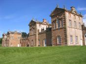 Chatelherault, built by William Adam in 1743 as the Duke of Hamilton's hunting lodge.