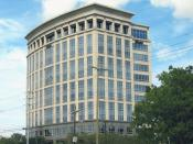 English: The Shaw Group Headquarters on Essen Lane, Baton Rouge, Louisiana, a commercial office corridor