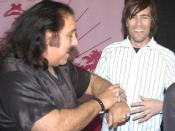 Porn star Ron Jeremy at the 2007 Adult Entertainment Expo.