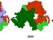English: Borders taken from Image:2005UKElectionMap.svg Colours are the same as used in that file + dark purple for UKUP. See Image:Northern Ireland election seats 1997-2005-by.svg File:Northern_Ireland_election_seats_1997-2005.svg&action=edit&section=1 f