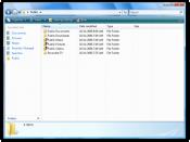 Windows Explorer in Windows Vista