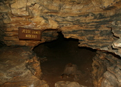 English: Jesse James Hideout in the Mark Twain Cave near Hannibal, Missouri