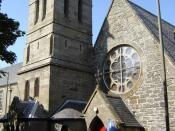 English: St. Magnus Episcopal Church, Lerwick The Scottish Episcopal Church is part of the Anglican Communion.
