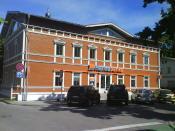 English: Hansabanka branch, Jūrmala, Latvia Русский: Отделение Хансабанка в Юрмале, Латвия