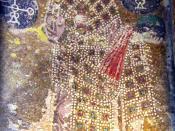 Alexander of Byzantium. Mosaic portrait in Hagia Sophia, Constantinople