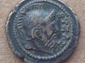 English: Coinage_with_Byzas_2nd_3rd_century_CE