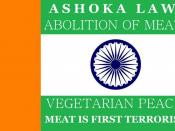 Flag.of.vegetarianism.ashoka.law.abolition.of.meat