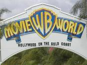 English: One of the entrances to Warner Bros Movie World