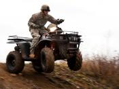 Training on all terrain vehicles in Germany