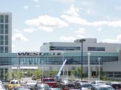 English: WestJet's headquarters in Calgary, Alberta Français : Siège social de WestJet, Calgary, Alberta