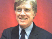 American actor and director Robert Redford. (Cropped from the original photograph)