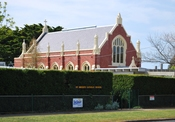 English: St Brigid's Roman Catholic church and primary school in Ballan, Victoria