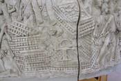 Bas relief of a Roman ballista
