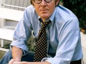 English: portrait of Alan Bennett