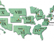 English: Map of regions of the Federal Emergency Management Agency