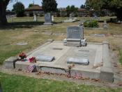 Grave site of John Steinbeck and family