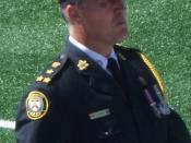 English: Bill Blair, Chief of the Toronto Police Service