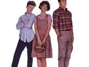 Film poster for Sixteen Candles - Copyright 1984, Columbia Pictures